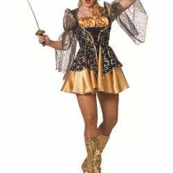 Stoer musketiers jurkje feest dames