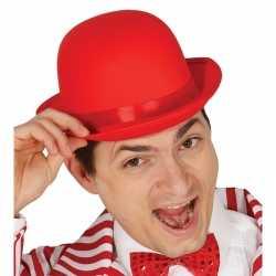 Toppers rode bolhoed/verkleed hoed feest volwassenen