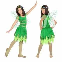 Toverfee/elfje fay verkleed kleding/jurkje feest meisjes