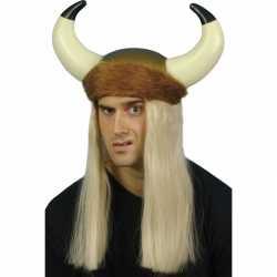 Vikinghelm blond haar
