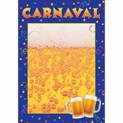 Wanneer waar carnavals poster
