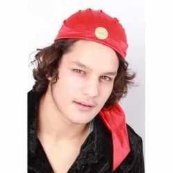 Zigeuner hoedje rood feest volwassenen