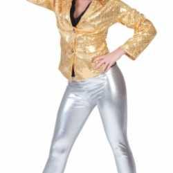 Zilveren leggings