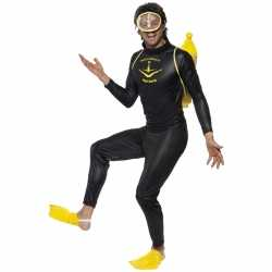 Zwart duiker pak