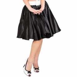Zwarte fifties rok petticoat feest dames