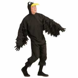 Zwarte kraai kleding feest volwassenen