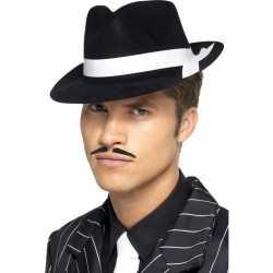 Zwarte mafia hoed